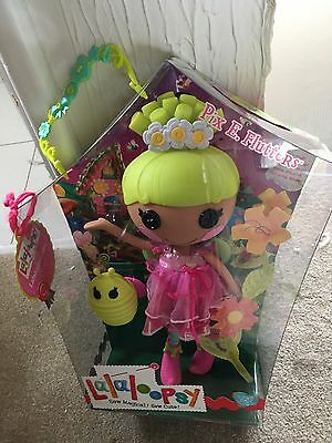 NEW Lalaloopsy Pix E Flutters Fairy doll with pet