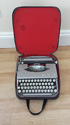 Empire Corona Vintage Typewriter with Character, comes with the Case