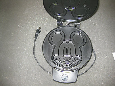 Disney Mickey Mouse Waffle Maker with Non-Stick Interior - Model #DCM-1