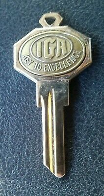 Vintage IGA Grocery Store 40th anniversary souvenir KEY To Excellence