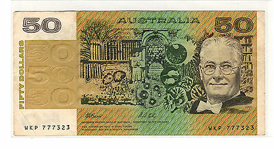 Australia 1991 - 50 Dollars Paper Note - Fraser/Cole - WKP 777323 - #4