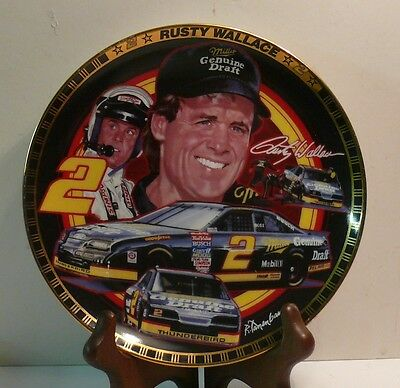 Rusty Wallace   The Drivers Of Victory Lane Plate Collection