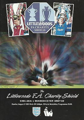 Chelsea v Manchester United - FA Charity Shield - 03 August 1997