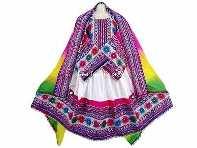 Afghan Kochi Bridal Handmade Pashtoon Dress Traditional Vintage Bohu Ladies Suit
