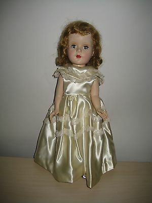 """VINTAGE 1950s AMERICAN CHARACTER SWEET SUE 15"""" WALKER DOLL W/ COMPLETE OUTFIT"""