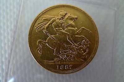 Young Head Victoria, 1 full Sovereign gold coin, Bullion investment Sovereign
