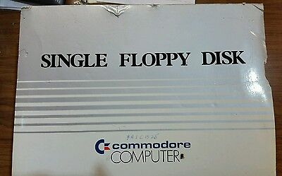 Vintage Commodore Floppy Disk Drive 1541 With Power Cord Original Box EX Looking
