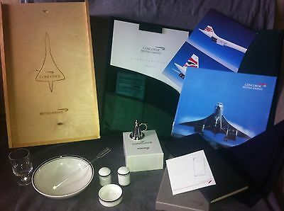 British Airways Concorde Collectable Souvenirs Flight Pack Royal Doulton Book