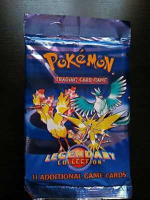 Pokemon 'Legendary Collection' booster pack for card game SEALED.