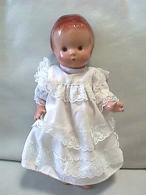 """Vintage Composition Effanbee Patsy Jr. Doll 11"""" Fully Jointed"""