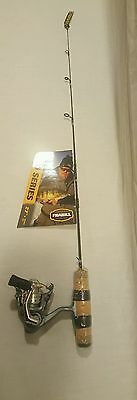 """New Frabill 6762 Bro Series Ice Fishing Rod & Reel 27"""" Quick Tip"""
