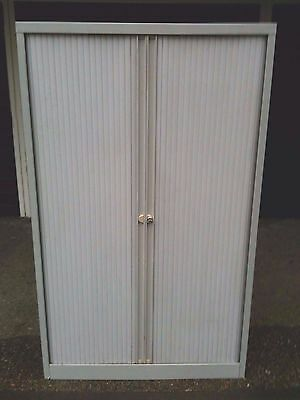 Tambour Cupboard / Cabinet. With Key.