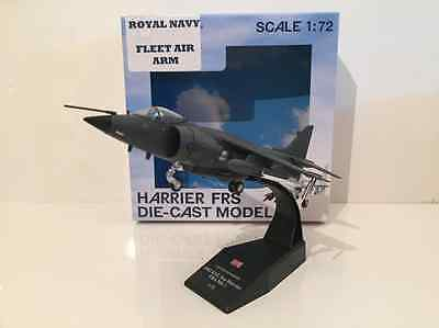 BAE Harrier FRS Diecast Model with Stand 1:72 Scale New RN 40606