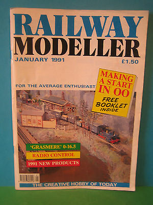 Railway Modeller January 1991 # Grasmere O-16.5 ~ Making A Start in OO Booklet