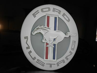 Ford Mustang Lighted Sign