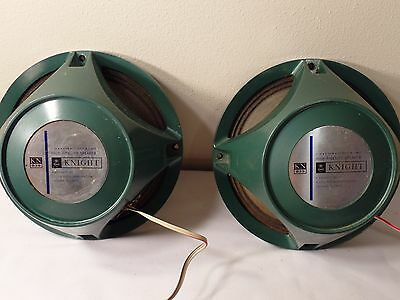 """Vintage Knight 8"""" Speakers Allied KN 839 Coaxial 3 Way, 8 OHM,"""
