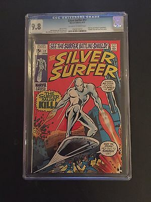 Silver Surfer 17 !! Cgc 9.8 !! Highest Graded !! Mint Classic !!