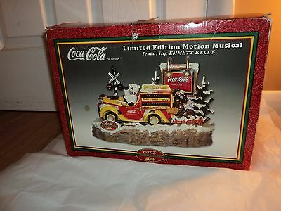 Coca Cola Thirst Stops Here Limited Edition Motion Musical Emmett Kelly