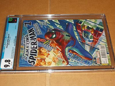 The Amazing Spider-Man #1 DECEMBER 2015 CGC 9.8 ALEX ROSS COVER VOL 4