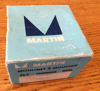 Martin Model 60 Vintage Fly Fishing Reel with box and warranty