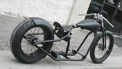 2016 Custom Built Motorcycles Bobber  MMW AMERICAN TRACKER 200 TIRE ROLLING CHASSIS