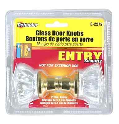 Crystal Glass Door Replacement Knob - Free 2 Day Shipping