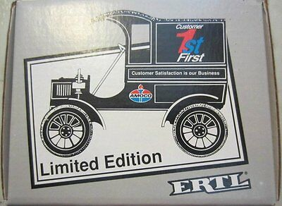 Ertl Amoco 1905 FORD Delivery Truck Die Cast Coin Bank Customer 1ST First