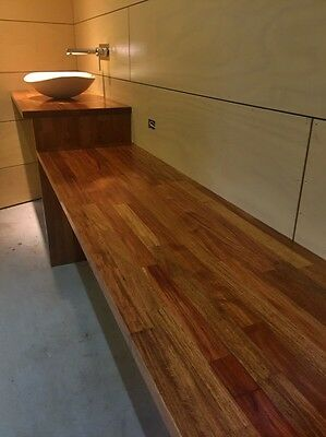 ROSEWOOD Timber Kitchen Benchtops - New - 3m long