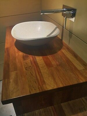ROSEWOOD Timber Kitchen Benchtops - New - 5.4M LONG