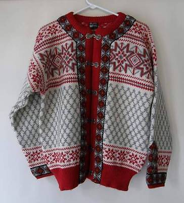 Dale Norway Large Cardigan Sweater and matching Hat