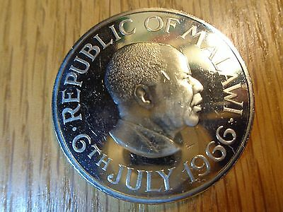 1966 Malawi One Crown Proof