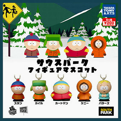SOUTH PARK Figure Mascot complete set STAN KYLE CARTMAN KENNY BUTTERS