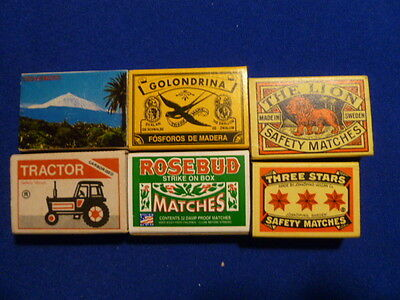 Lot Match Box Different Countries