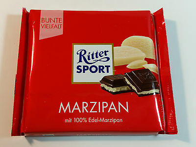Ritter Sport  - MARZIPAN - 3.5oz - 100g - MADE IN GERMANY - BEST PRICE