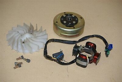 Used Stator, Fly Wheel and Fan For TGB Tapo 50cc Scooter