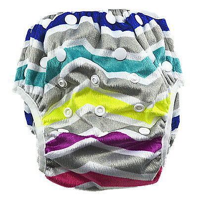New Reusable Unisex Swim Nappy Baby Toddler Cover Diaper Pants Nappies Swimmers