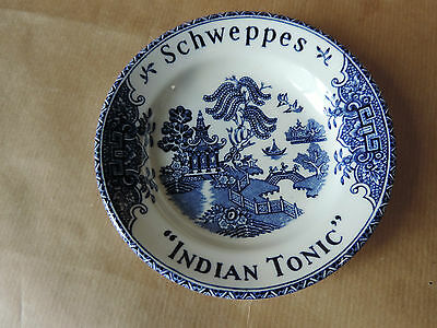 vide poche coupelle Porcelaine Schweppes Indian Tonic Marque Wedgwood & col.td