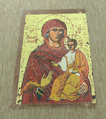 Reproduction Antique Orthodox Christianity Painted Painting Russian Icon -4