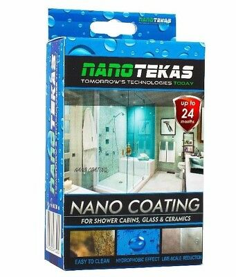 Nano spray NanoTec Nano Technology for Shower Cabins, Ceramics Hydrophobic