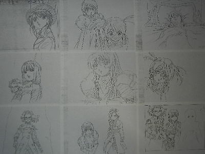 Sakura Taisen Sakura Wars Shusei Settei for cel JAPAN
