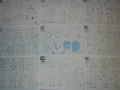 Naruto Shippuden Settei for cel JAPAN y2