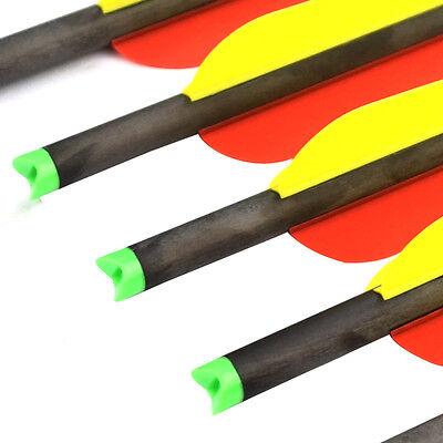 6X Crossbow Bolts 20 inch Hybrid Carbon Archery Arrows Hunting Points 125 Grains