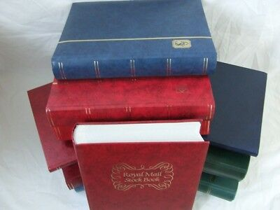 STAMP STOCKBOOKS - TOP NAMES, STANLEY GIBBONS, LIGHTHOUSE, ROYAL MAIL, DAVO, etc