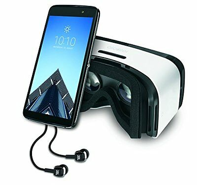 Alcatel IDOL 4 S Unlocked 4G LTE Smartphone with VR Goggles and JBL Headset -...