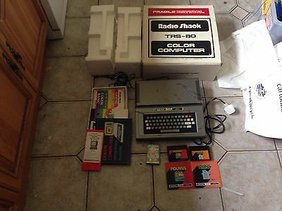 Tandy Radio Shack TRS 80 16k Color Boxed
