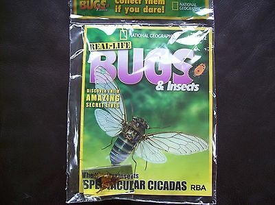 National Geographic Real-life Bugs & Insects magazine Issue 12