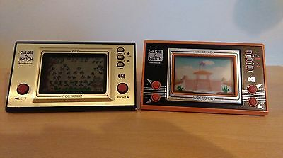Nintendo Game & Watch - Fire And Fire Attack - Double Bundle!!
