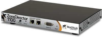 Ruckus ZoneDirector 1112 - Used, Fully Tested, Licensed for 12 Ruckus APs