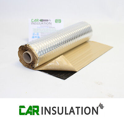 Car Audio Sound Deadening Mat Roll PeaceMAT XR 2mm Panel Dampening Alu Butyl Van