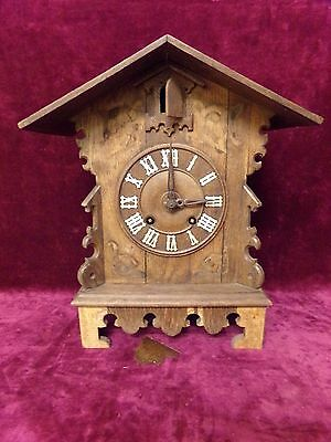 antique  Fusee Cuckoo clock for restoration